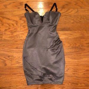 Slate gray Mark Wong Nark mini dress size xs